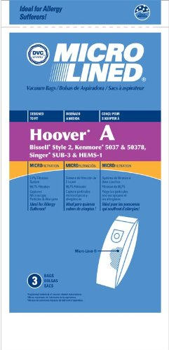 Generic Paper Bags, Hoover Type A Bags Replaces OEM 4010100A Part 433896