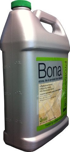 Bona Pro Series Wm700018175 Stone Tile and Laminate Cleaner Refill MegaPACK 1Pack (1Gallon)