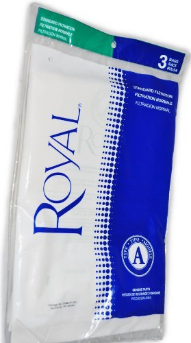 Royal Type A Metal Upright Vacuum Cleaner Bags RO-088147 Part 3088147001