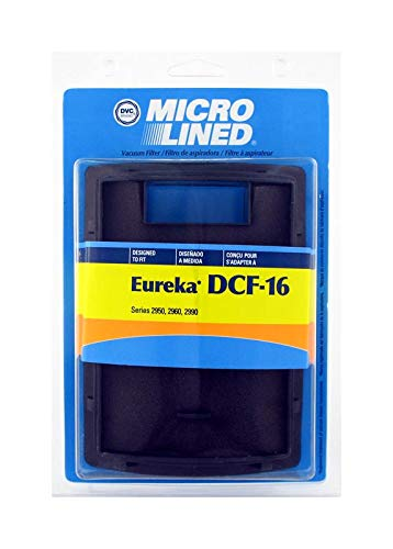 Eureka DCF-16 Filter Dust Cup Filter for Altima Bagless, SurfaceMax, Uno Uprights, Repaces OEM 62736A, Part 470961