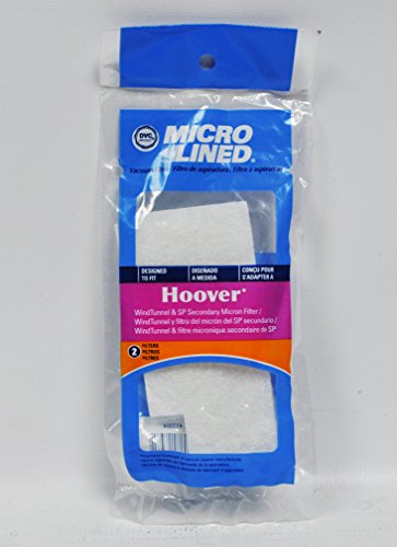 DVC Micro Lined Hoover WindTunnel and SP Secondary Micron Filters Part HR-1832
