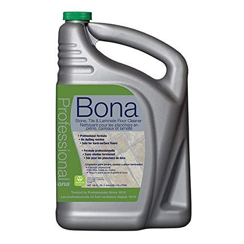Bona Pro Series Wm700018175 Stone Tile and Laminate Cleaner Ready to Use FamilyValue 2Pack (128Oz)
