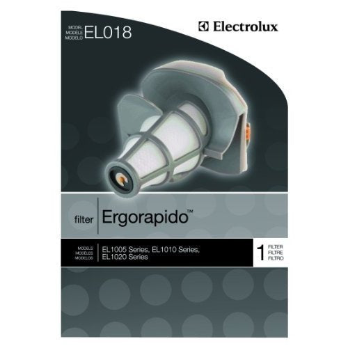 Electrolux Ergorapido Dust Cup Filter 2 filters EL018, Fits Electrolux