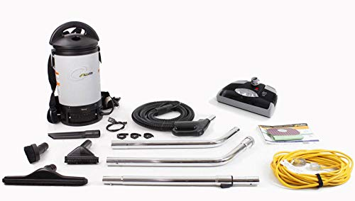 ProTeam Sierra Backpack Vacuum Cleaner W/ Power Nozzle Kit 6 SKU 103242