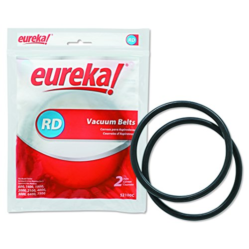 Electrolux 52100C12 EUR Replacement Belt Bagless Sanitaire Lightweight Commercial (Pack of 2)