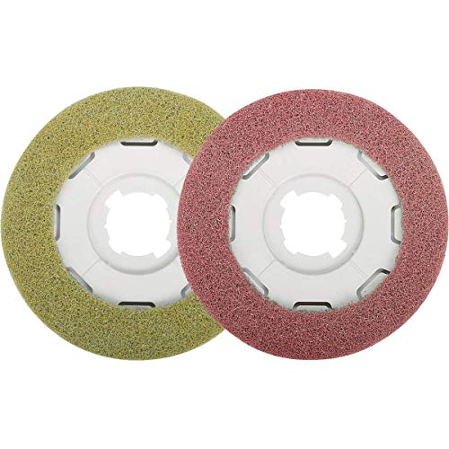 Sebo Yellow & Red Floor Pad Set for Disco Part 3286ER40
