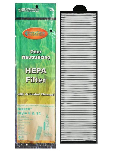 Bissell Style 8, 14 Pleated Post Motor Filter, 3910 Series (2 pack) Model: 3091 Part F945