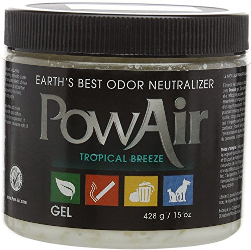 PowAir Odor Neutralizer Gel | Tropical Breeze | 14oz