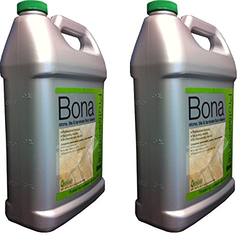 Bona Pro Series Wm700018175 Stone, Tile and Laminate Cleaner Ready To Use, 2-Gallon Refill