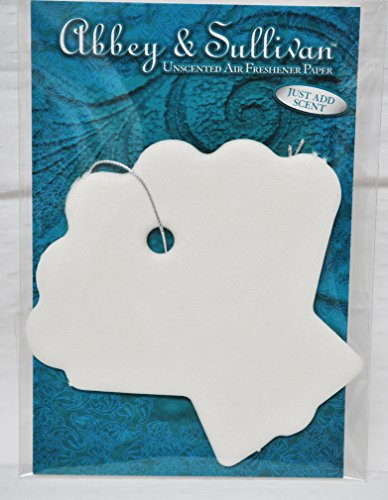 Abbey and Sullivan Shell Shaped Unscented Air Freshener Paper