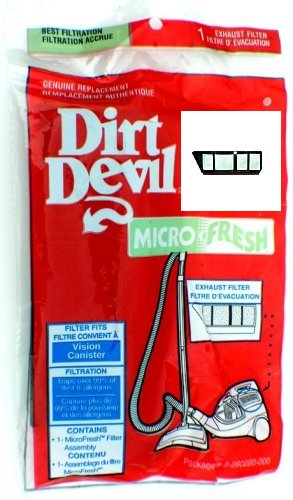 Dirt Devil / Royal Vision Canister 082600 Filter Part 3260220000
