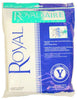 Royal Type Y Vacuum Bags 7PK Fits Royal Upright CR50005 AR10140