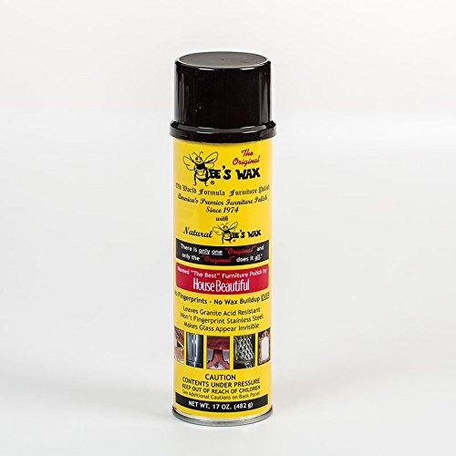 Bees Wax Polish Aerosol Spray 17 oz Part BW-17