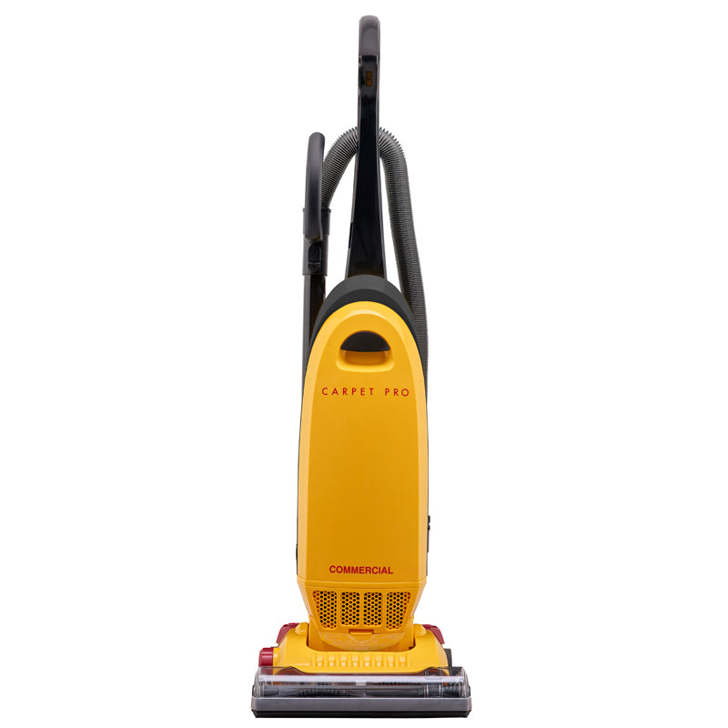 Carpet Pro CPU-350 Commercial Upright Vacuum Cleaner, W/10amp 40' Cord/OB Tools