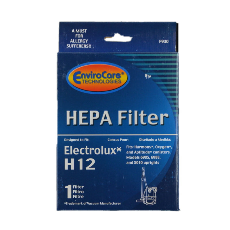 Electrolux HEPA Filter, Exhaust & Charcoal H12 6985 Part F930