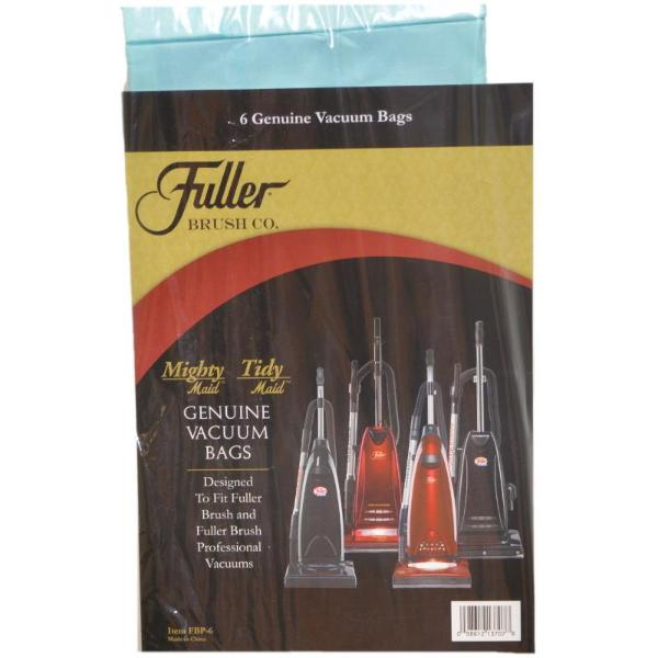 Fuller Brush Vacuum Bags 6pk Part FBP-6