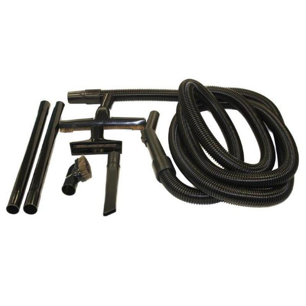 Fuller Brush 7pc Attachment Kit, 15' Crushproof Hose Part FB-05119