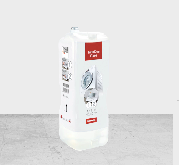 Miele TwinDos Care Cleaning agent for the TwinDos dispensing system Part GPTDC141L