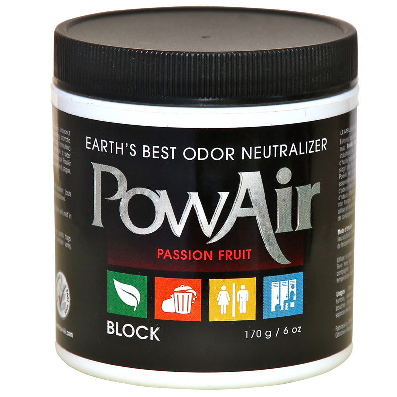 PowAir Odor Neutralizer Passion Fruit 6oz Part PBK-170DW-PF