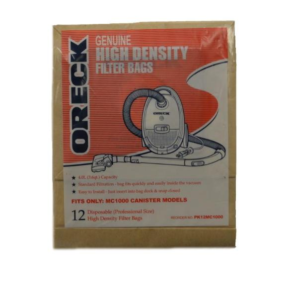Oreck Quest Canister Vacuum Bags Part PK12MC1000