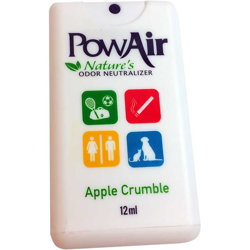 PowAir Odor Neutralizer Travel Spray Card Apple Crumble Part PLI-15MC-AC