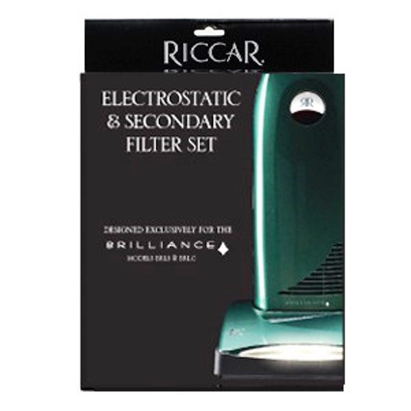 Riccar Brilliance Standard Electrostatic/Foam and Electrostatic Secondary Filter Set Part RF5SC
