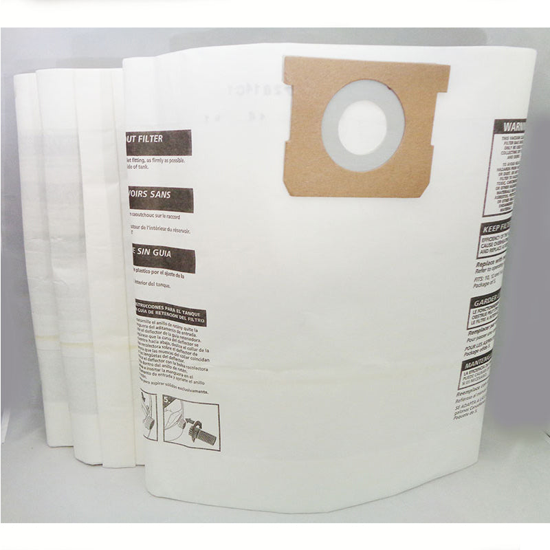 Shop Vac Vacuum Paper Bags for Shop Vac/Multi-Fit 10-14 Gal 3Pk Generic Part SVR-1409