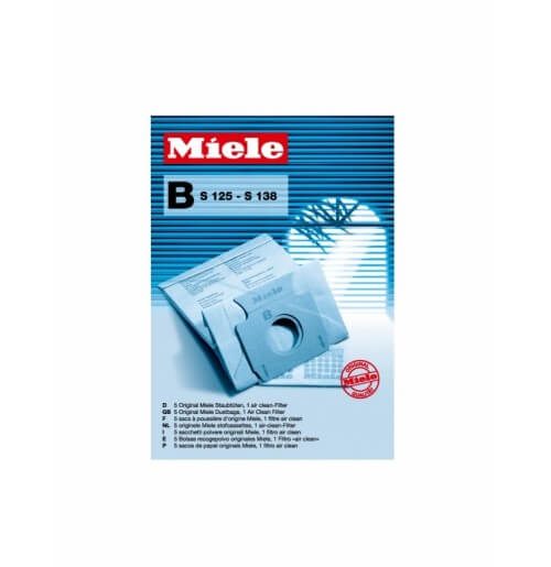 Miele Type B Replacement Dustbags Part 01122199