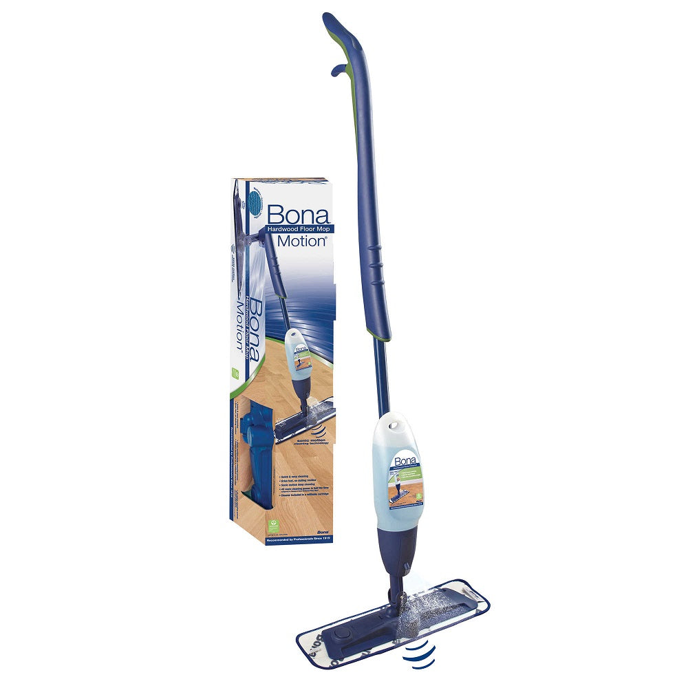 Bona Pro Series Mop Kit, W/Sonic Vibration 33 oz Hardwood Cleaner Part WM710013405
