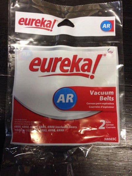 Eureka Vacuum Belts Part 58065B