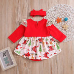 Newborn Christmas Romper Outfit Dress - bump, baby and beyond