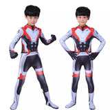 Toddler kids endgame quantum Cosplay costume - bump, baby and beyond