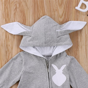 Newborn Baby Girls 3D Ear Rabbit Romper Clothes - bump, baby and beyond