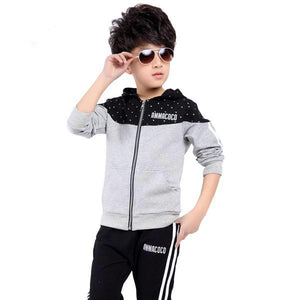 Boys Hooded Sports Tracksuit clothes+pant - bump, baby and beyond