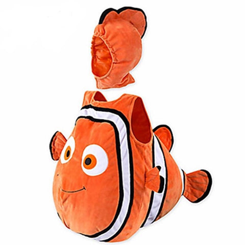Newborn toddler clownfish Nemo halloween costume - bump, baby and beyond