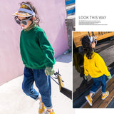 Kid girls turtleneck shirts & jeans - bump, baby and beyond