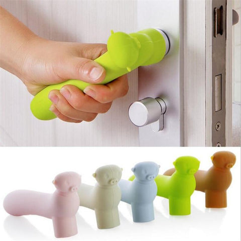 Children safety doorknob silicone handle cover - bump, baby and beyond