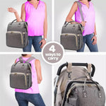 Muti purpose 4 in 1 baby carrier backpack convertible travel storage bag - bump, baby and beyond