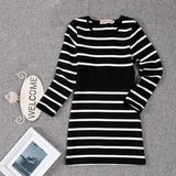 Toddler children girls fashion striped dresses - bump, baby and beyond