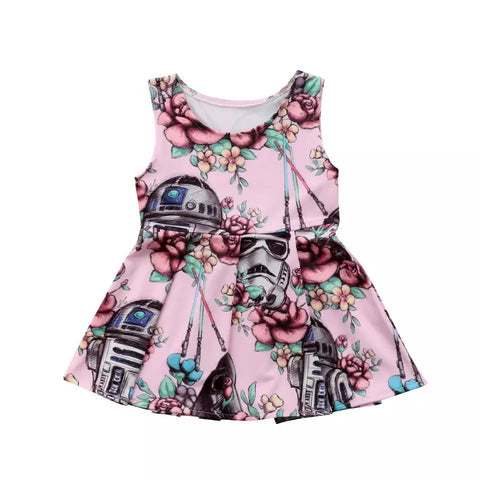 Newborn Baby Girls Star Wars Party Clothes - bump, baby and beyond