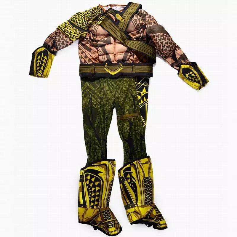 Children Boys Aquaman Cosplay Halloween Costume - bump, baby and beyond