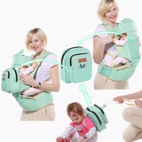 Multifunctional Baby Sling Ergonomic Backpack Carrier - bump, baby and beyond