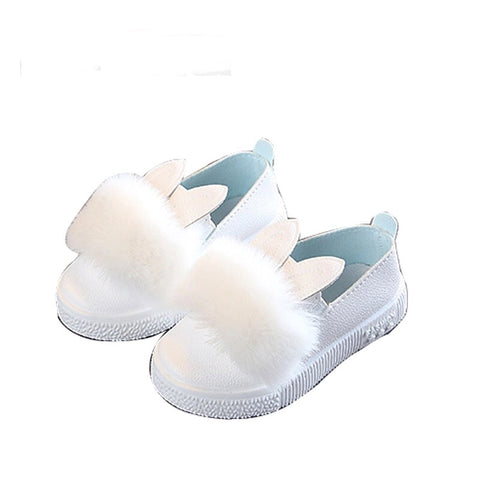 Toddler baby girls rabbit ear shoes - bump, baby and beyond
