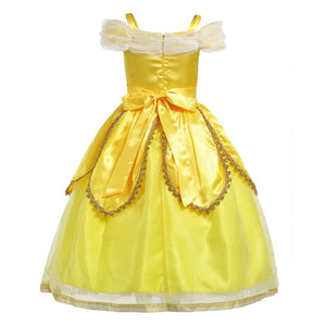 Princess Belle Sleeveless Shoulderless Cosplay Costume Dress - bump, baby and beyond