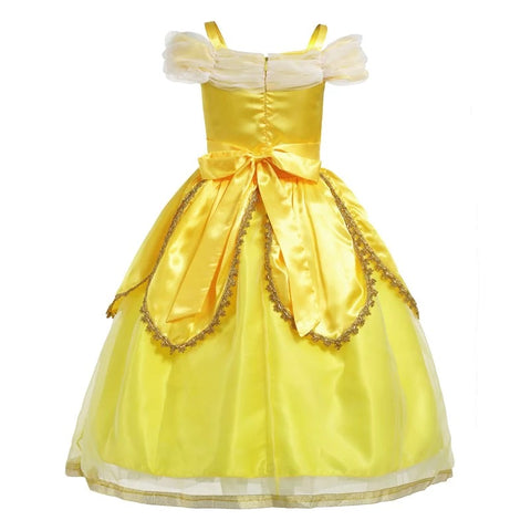Princess belle sleeveless cosplay costume dress - bump, baby and beyond