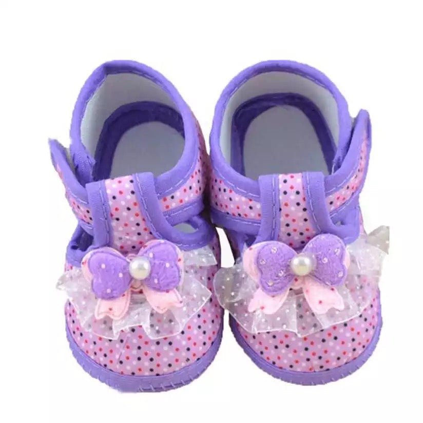 Baby Girl Soft Sole Moccasins Menina Sneakers Shoes - bump, baby and beyond