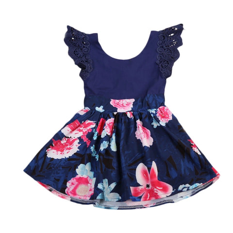 Toddler Girls Sleeveless Floral Dress - bump, baby and beyond