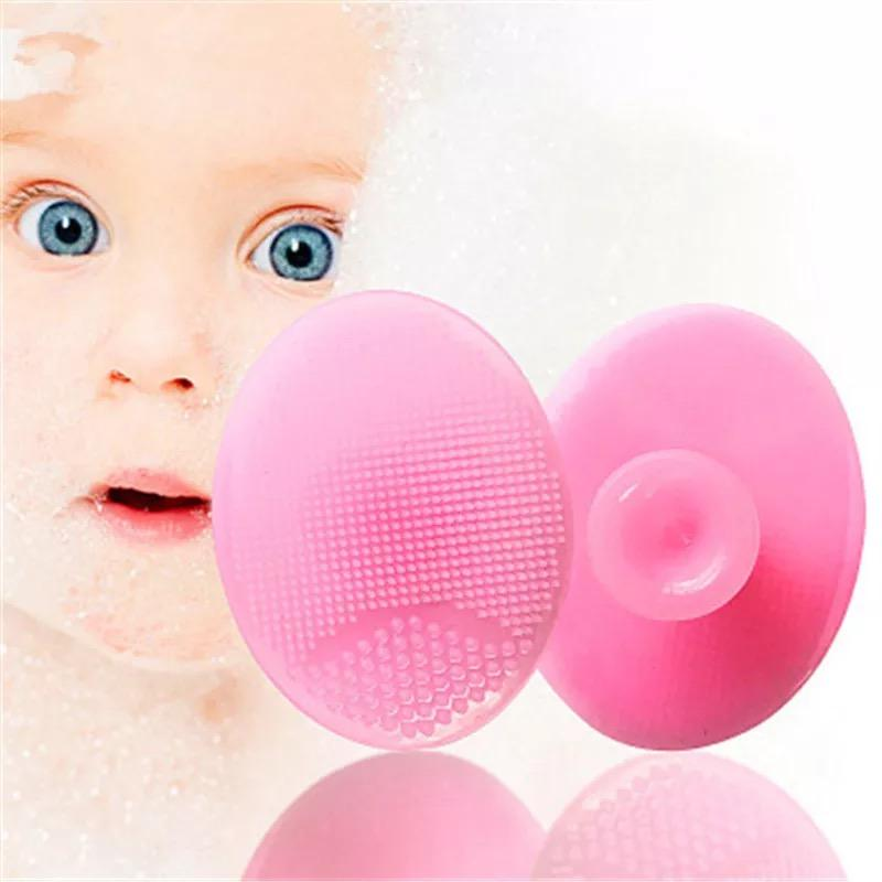 3Pcs Baby Bath Brushes Massage Shower Cleanser - bump, baby and beyond