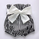 3pcs Cute Baby Girl Tops Stripe Romper Clothes - bump, baby and beyond