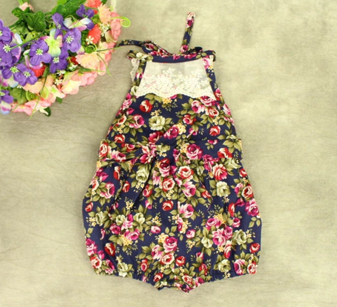 Casual Baby Girls Flower Romper Jumpsuit Clothes - bump, baby and beyond
